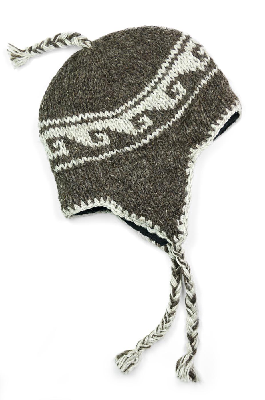 Natural Brown Hat