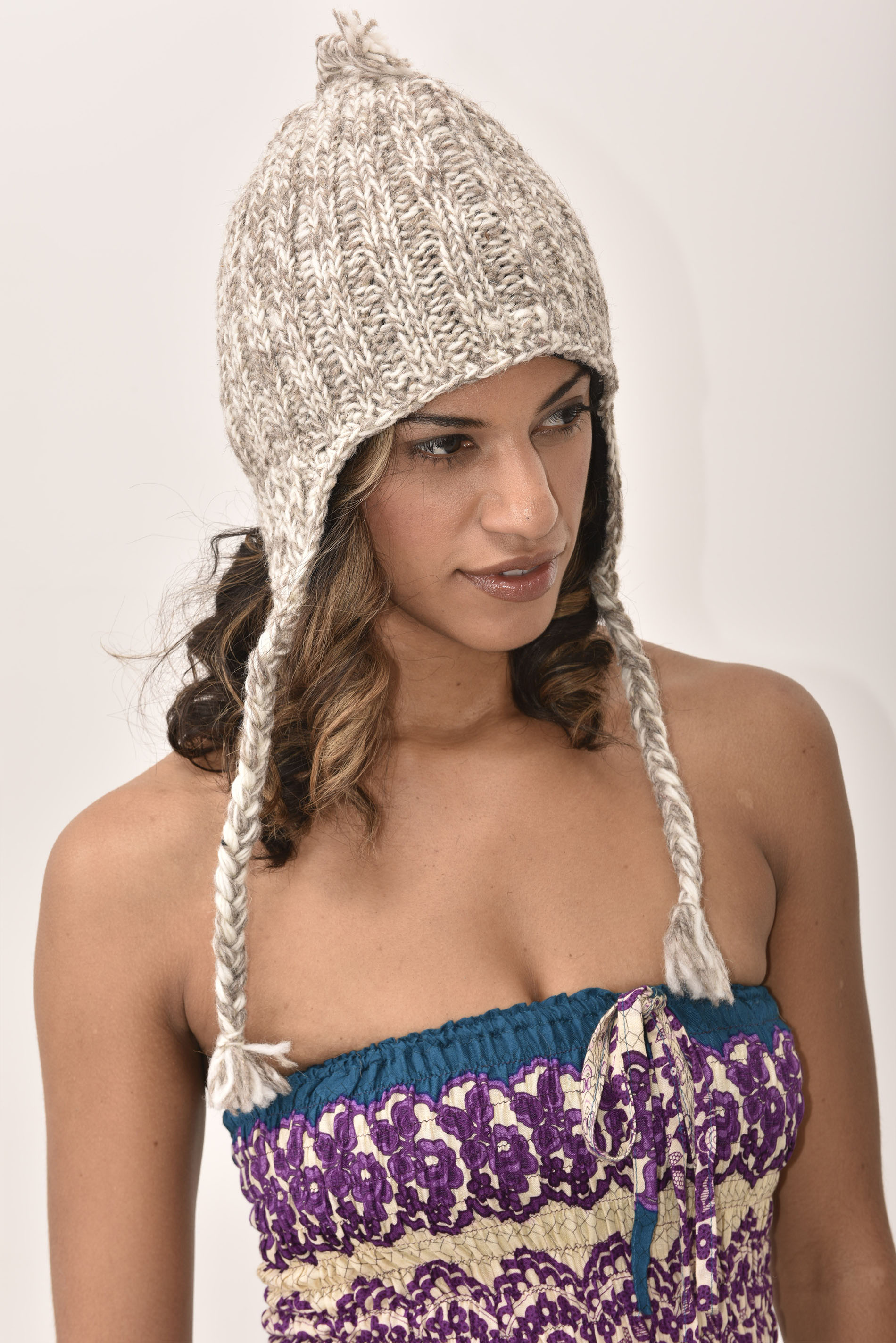 Sherpa Hat, Taupe