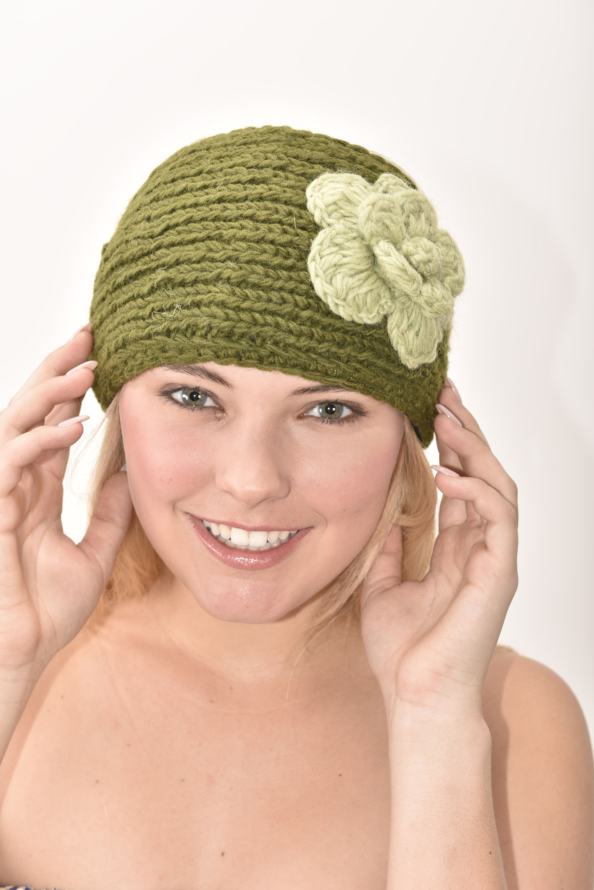 Headband, Olive Avocado