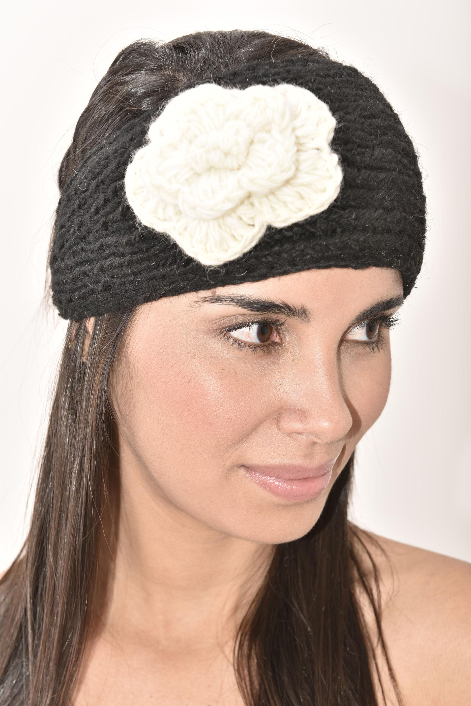 Headband, Black Cream