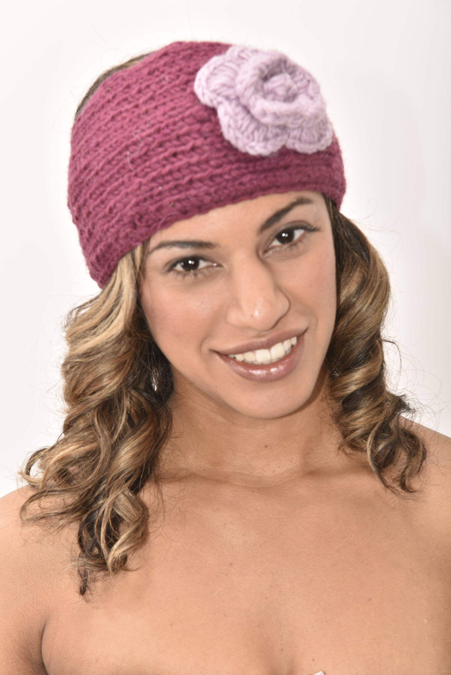 Headband, Plum Berry