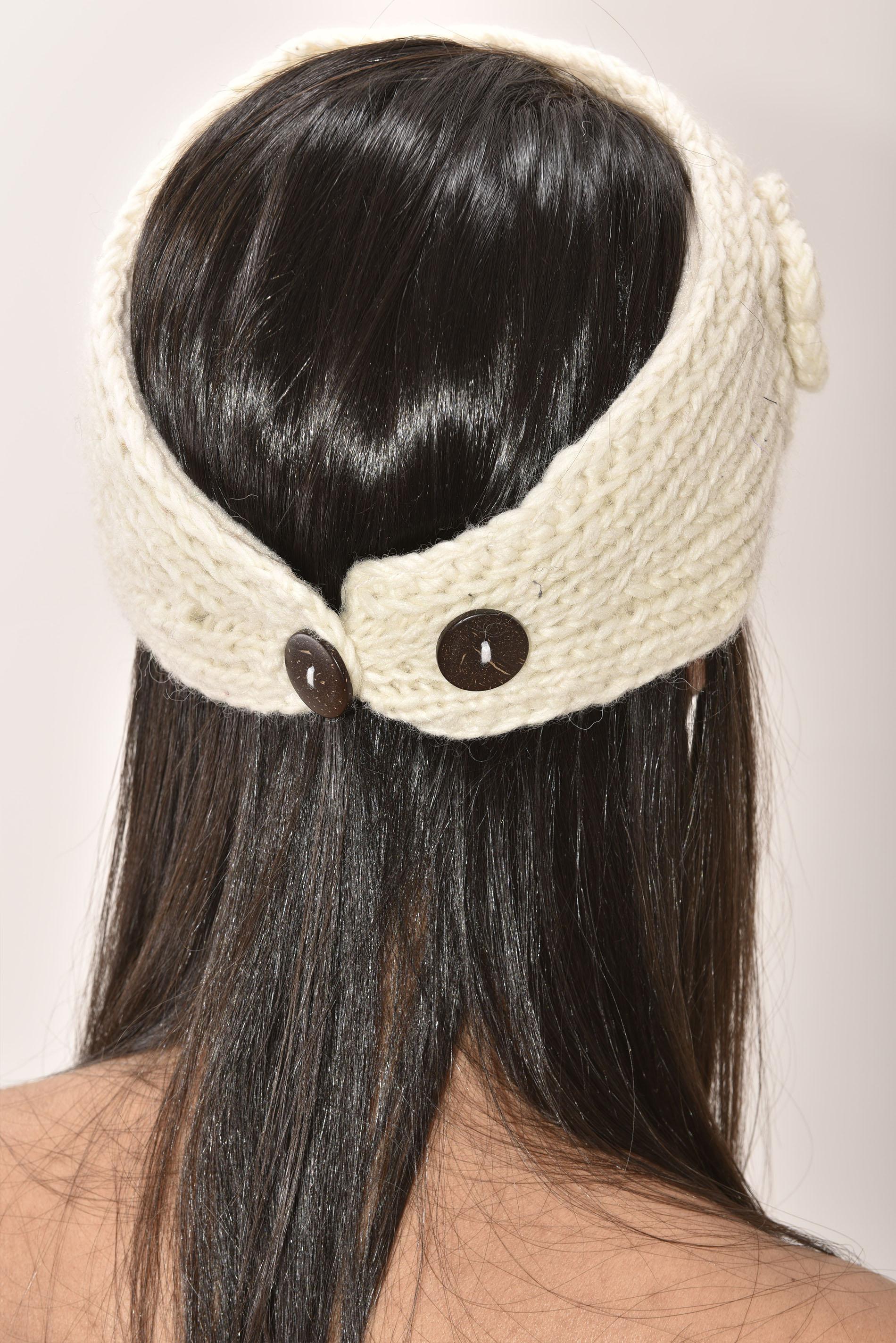 Headband, Cream