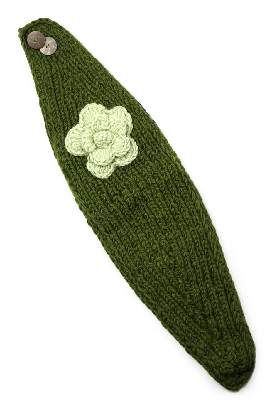 More Wool Flowery Headbands