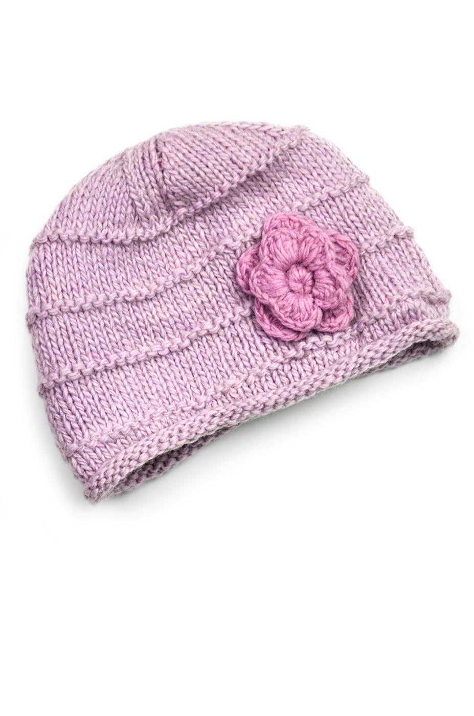 Pink & Quite Pink Hat