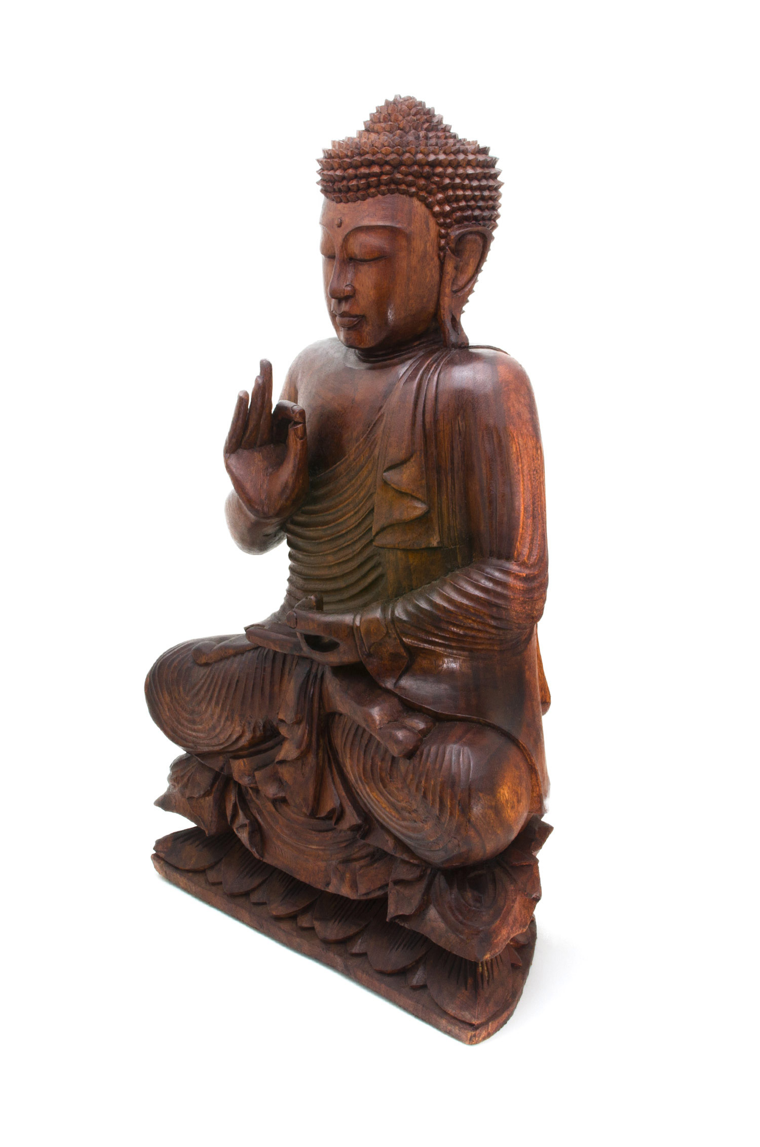 Teaching Buddha on Lotus 24