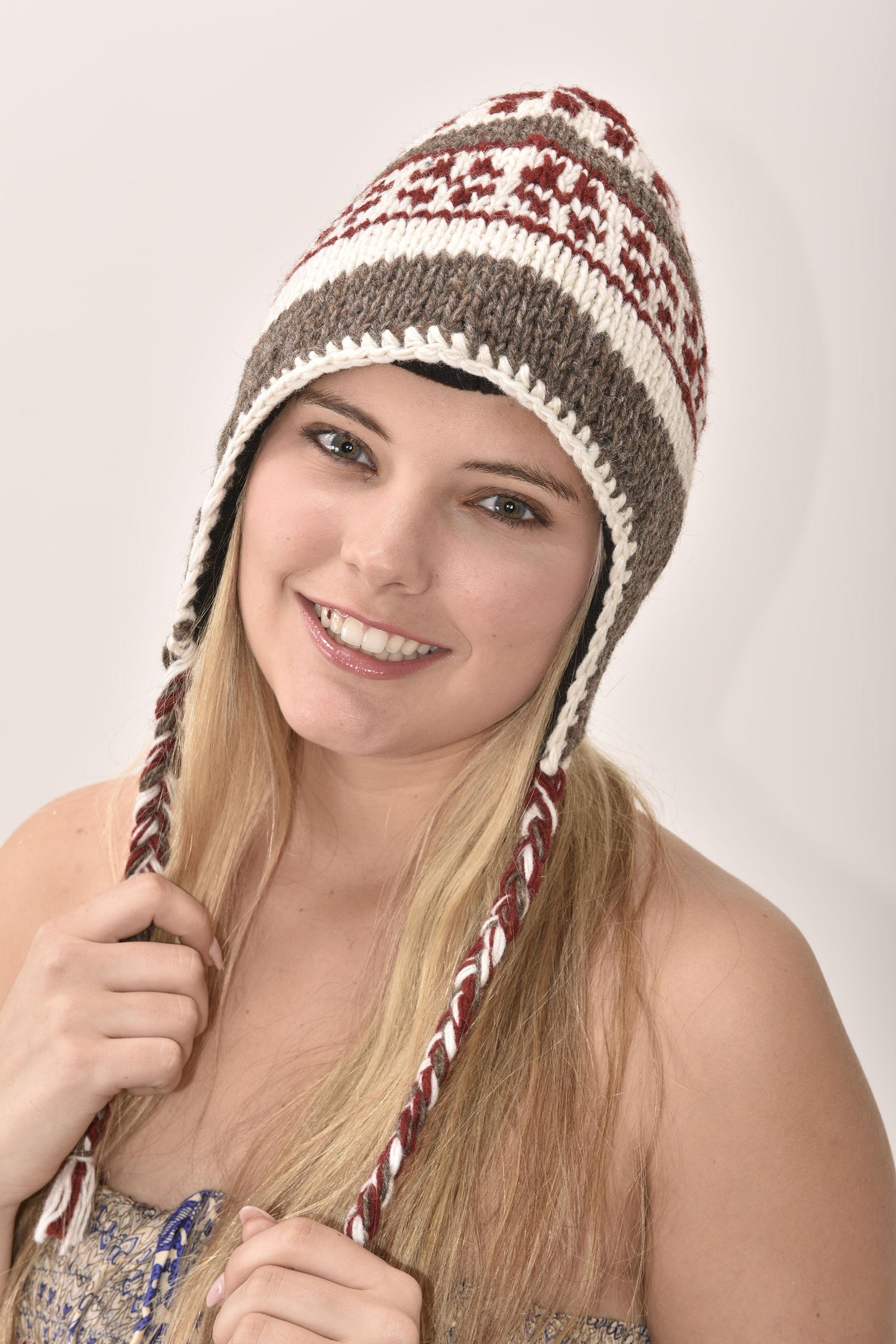 Merlot Vintage Pattern Hat