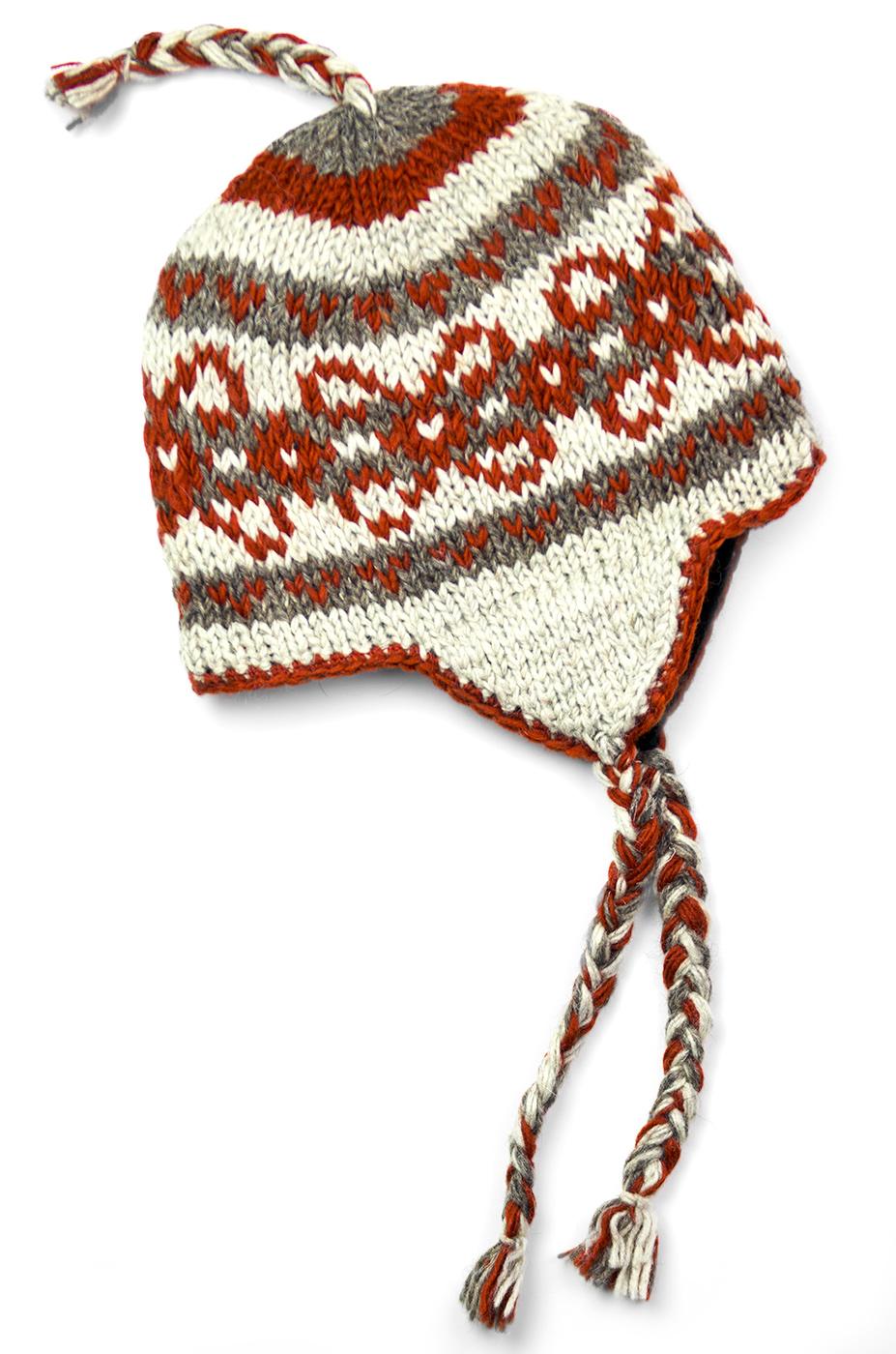 Cinnamon Vintage Pattern Hat