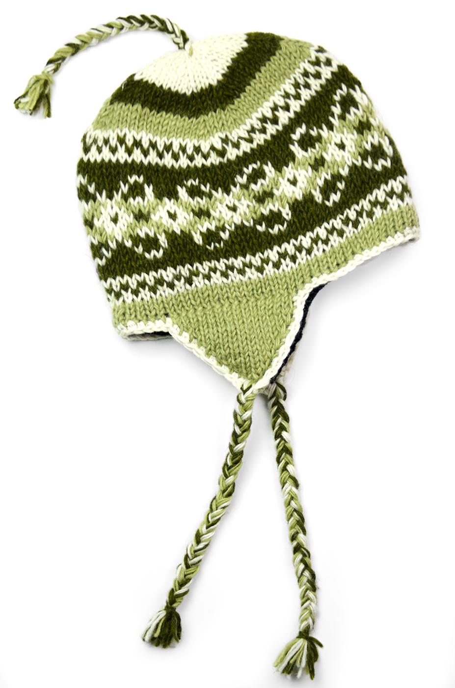 Olive Vintage Pattern Hat