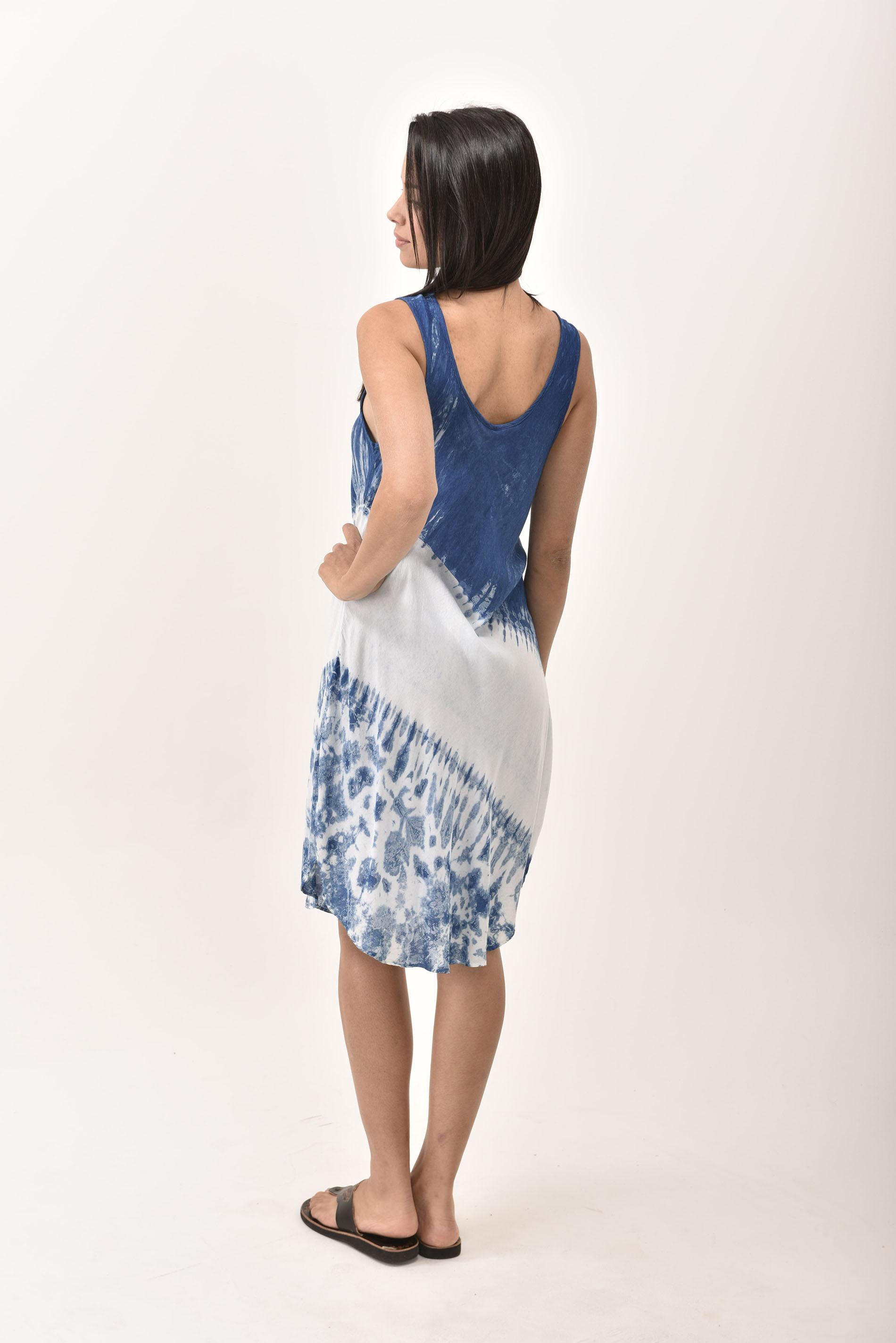 Short Dress, Indigo- 4508-IW