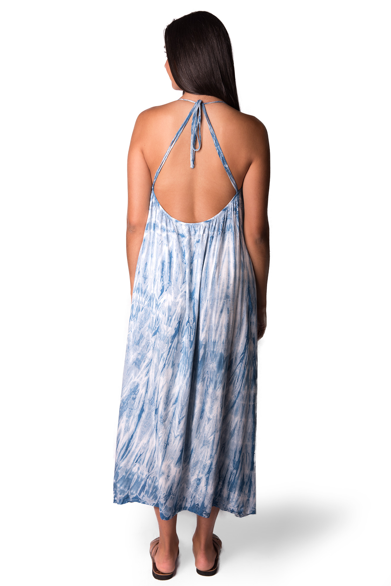 Maxi Dress, Indigo - 4512IT