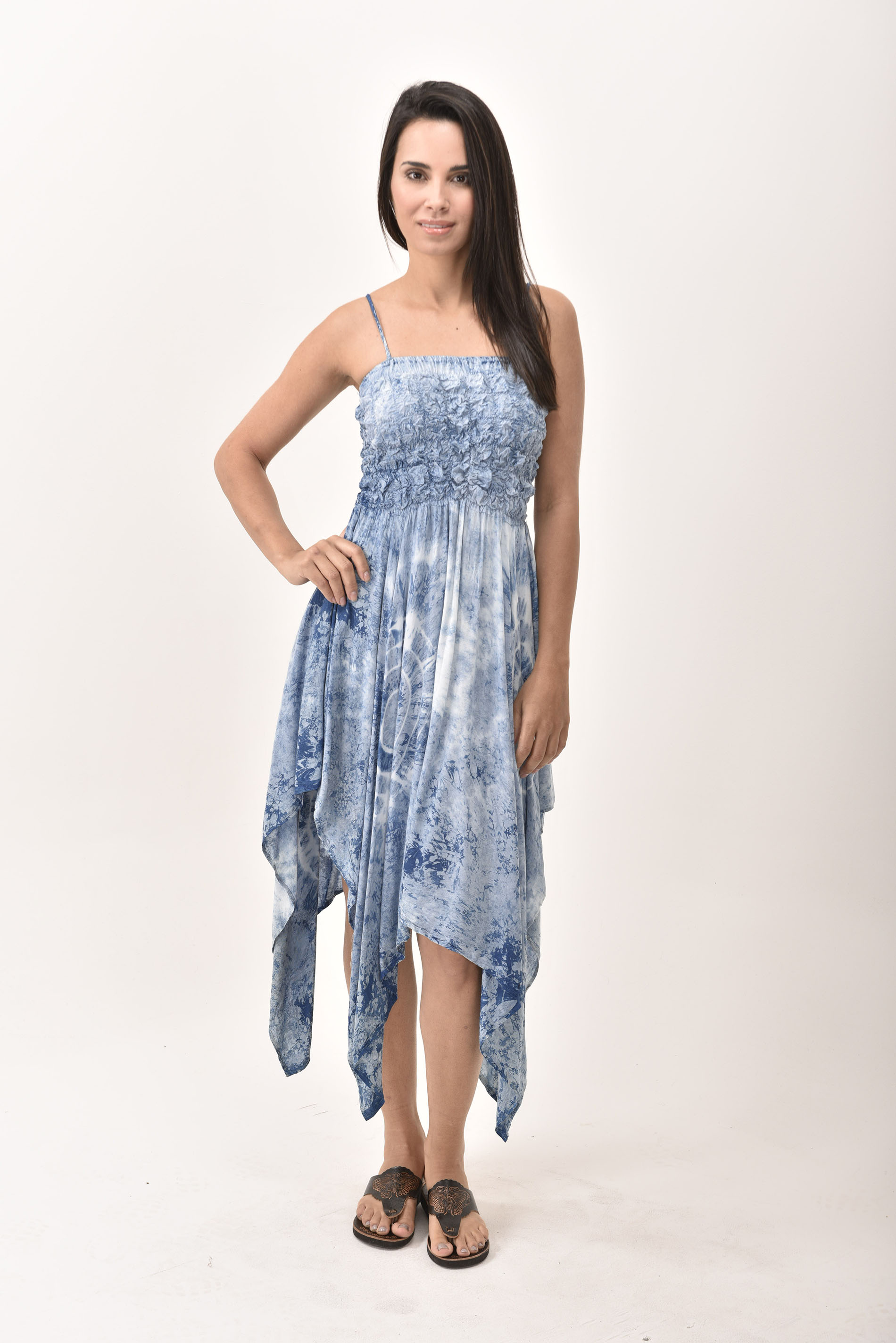 Fairy Dress, Indigo - 4567IH