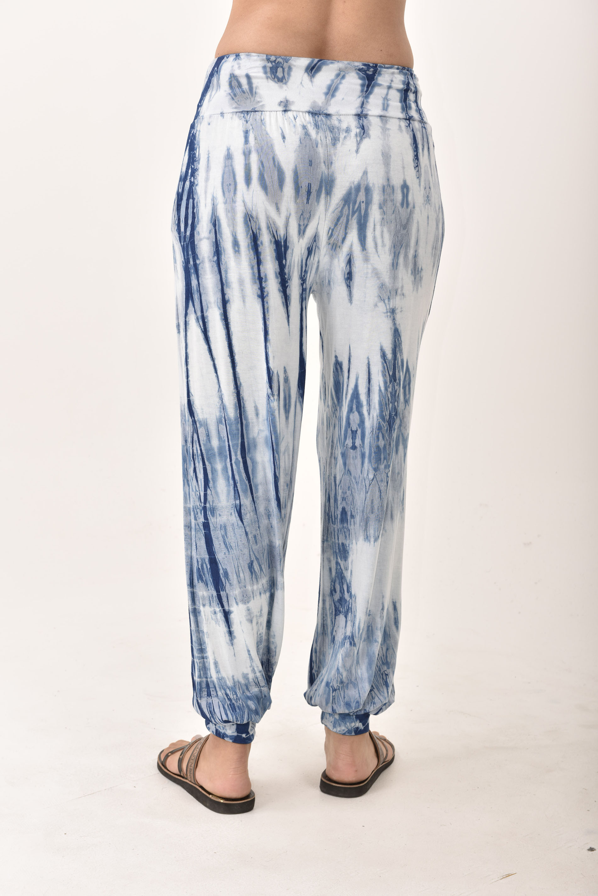 Harem Pants, Indigo - 4570it