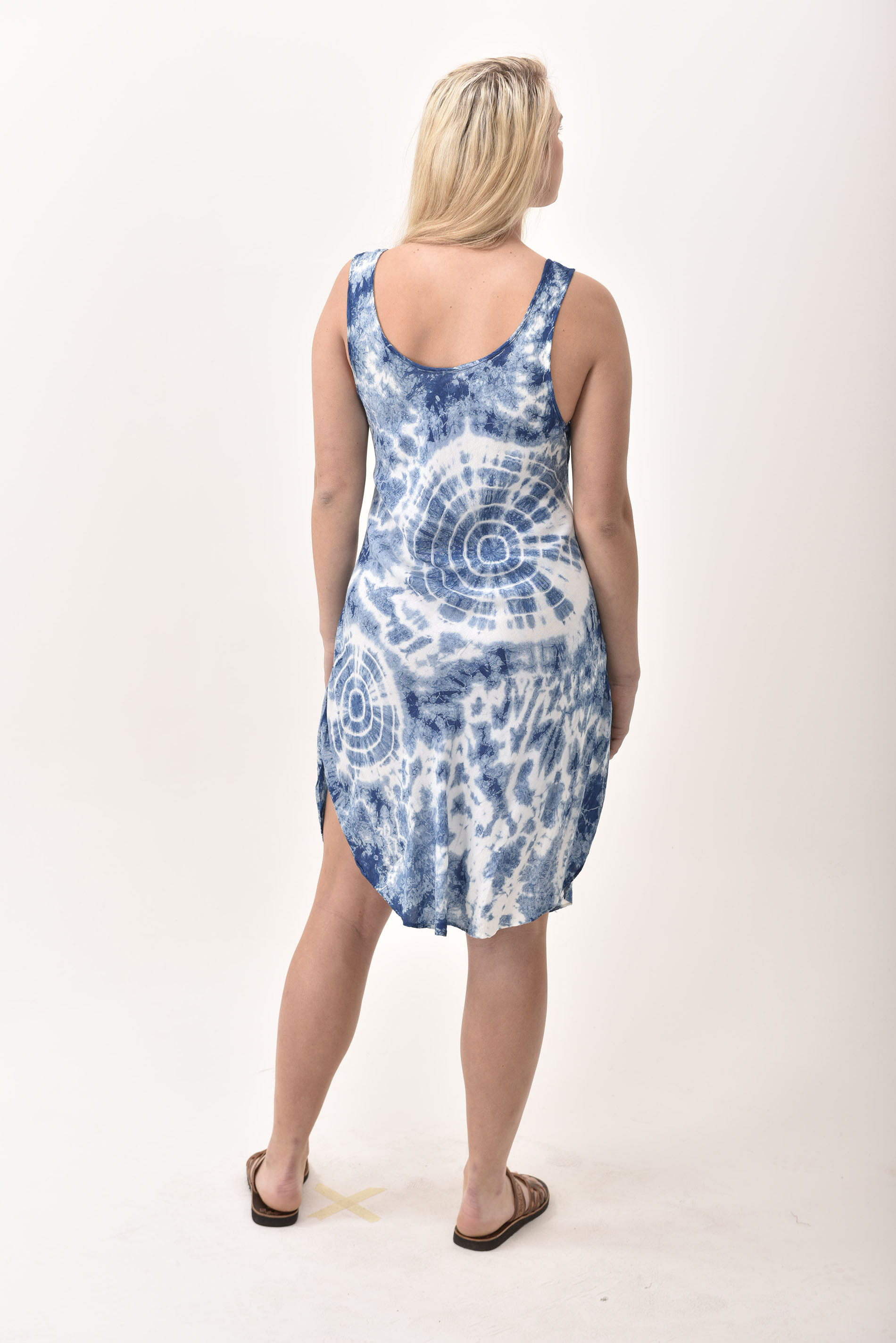 Short Dress, Indigo - 4508-IH